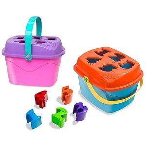 Baby Land Maletuxo Didático Com Números - Cardoso Toys