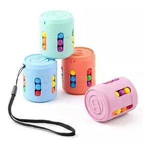 Fidget Toys Magic Cube Bolinhas Coloridas