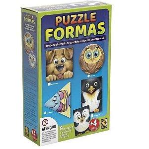 Quebra Cabeça Puzzle Formas - Grow