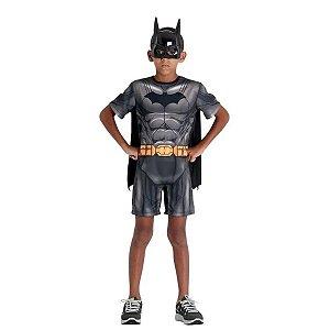 Fantasia Do Batman Infantil Curta Justice League Dc - Sulamericana