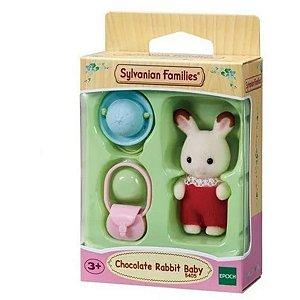 Sylvanian Families - Bebê Coelho Chocolate - Epoch 5405
