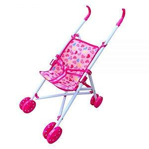 Carro para boneca Passeio Divertido - Dm Toys