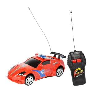 Carro Controle Remoto Sem Fio Polícia 1:32 - Dm Toys