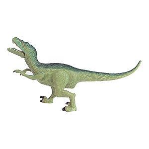 Dinassauro Velociraptor Com Luz e Som - Dm Toys