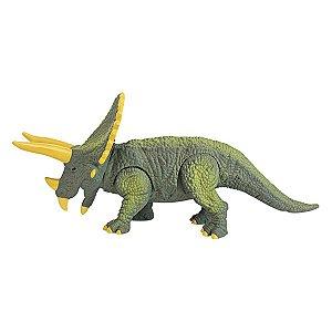 Dinassauro Triceratops Com Luz e Som - Dm Toys
