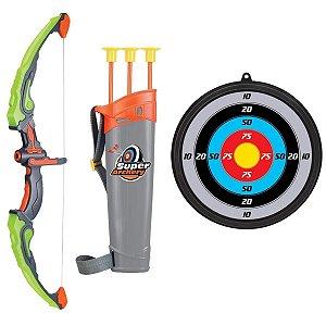 Arco e Flecha Infantil Com Luz - DM Toys
