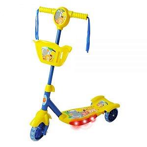 Patinete com Cesta - Floresta Divertida - Dm Toys