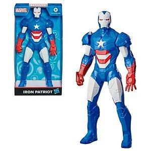 Boneco Homem De Ferro Iron Patriot Marvel 25 Cm - Hasbro