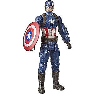 Boneco Marvel Capitão América Titan Hero - Hasbro