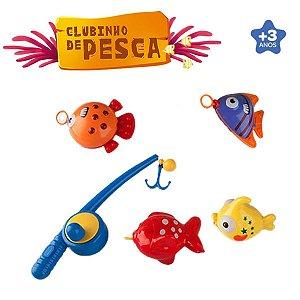 Clubinho Da Pesca Com 5 Pçs - Zoop Toys