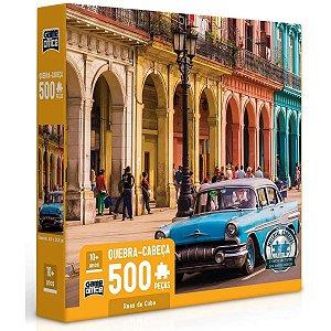 Quebra-cabeça 500 peças - Ruas de Cuba - Toyster