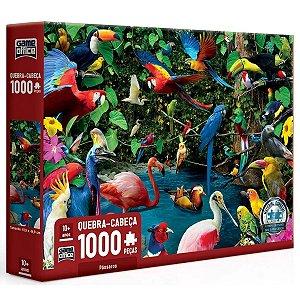 Quebra Cabeça 1000 Pçs Pássaros - Toyster