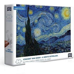 Quebra- Cabeça 1000 Peças Vincent Van Gogh - A Noite Estrelada
