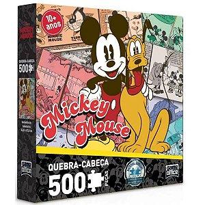 Quebra-Cabeça - 500 Peças - Mickey Mouse - Toyster