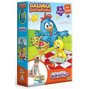Quebra-Cabeça Grandinho 28 Pçs - Galinha Pintadinha - Toyster