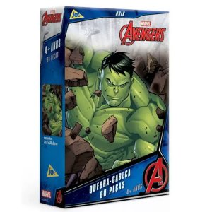 Quebra-Cabeça 60Pçs - Marvel Hulk- Toyster