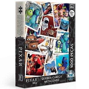 Quebra-Cabeça Pixar 1000 Pçs - Metalizado - Toyster