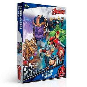 Quebra- Cabeça Avengers 100 peças - Toyster
