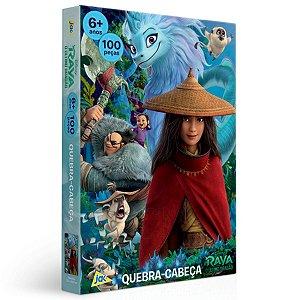 Quebra-Cabeça 100 Pçs - Disney - Raya e o Último Dragão - Toyster