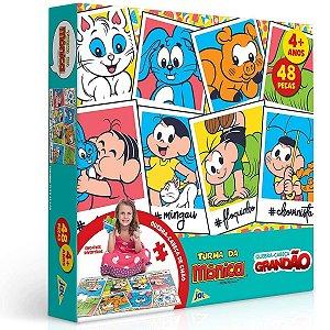 Quebra-Cabeça Grandão Turma Da Mônica 48 Peças- Toyster