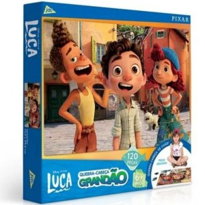 Quebra-Cabeça Grandão Luca Disney Pixar - Toyster