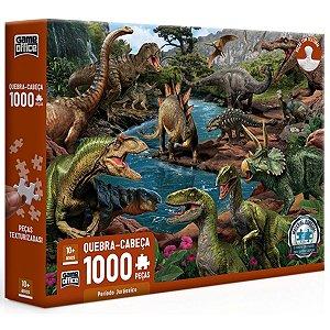 Quebra-cabeça 1000Pçs - Período Jurássico - Toyster