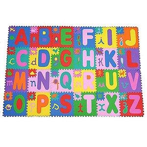 Tapete EVA Alfabeto 24 Pcs 20x20 - Haiti
