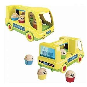 Brinquedo Educativo Ônibus Bus Kid Original - Dismat