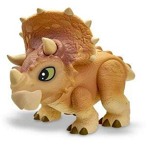 Dinossauro Triceratops Jurrassic World Dino Baby - Pupee