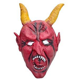 Máscara Halloween Latex Diabrete