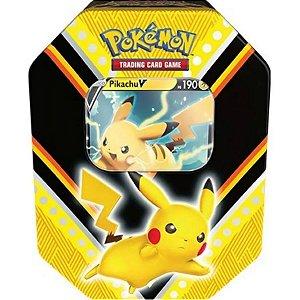 Pokémon Lata Poderes V Pikachu V - Copag