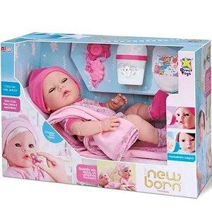Boneca Menina Premium New Born - Diver Toys