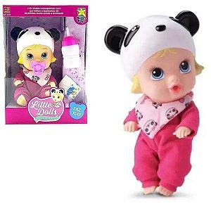 Boneca Little Dolls Soninho Faz Xixi - Sortidos - Divertoys