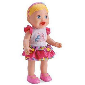 Boneca Little Dolls Come E Faz Caquinha - DiverToys