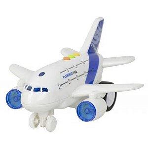 Avião Com Luz E Som - Mega City - BBR