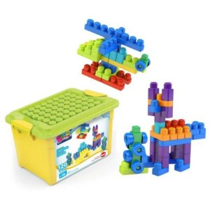 Brinquedo Educativo De Montar 120 Peças - Dismat