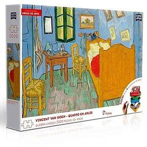 Quebra-Cabeça Vincent Van Gogh Quarto Em Arles - Toyster