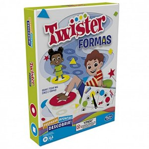 Jogo Twister Formas - Hasbro