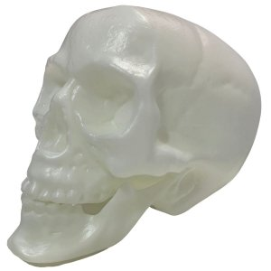 Crânio Neon Brilha No Escuro Halloween - Brasilflex