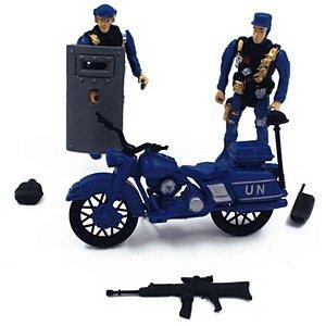 Bonecos Police Force - Pica Pau