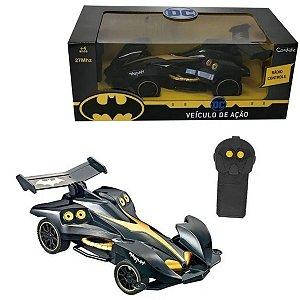 Carro Controle Veículo De Ação Batman - Candide