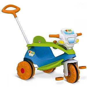 Triciclo Velobaby - Azul - Bandeirante