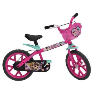 Bicicleta Infantil Lol Aro 14 - Bandeirante