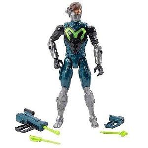 Boneco Max Steel Articulado 30cm Francoatirador - Mattel