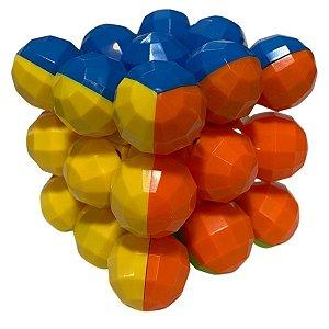 Fidget Toys Cubo Mágico 3x3 Bolinhas - Nettoy