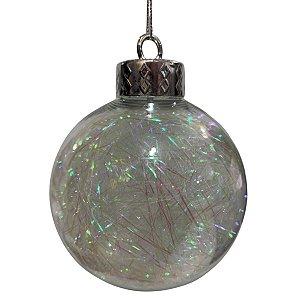 Bola Decorada Natal Festão 8cm