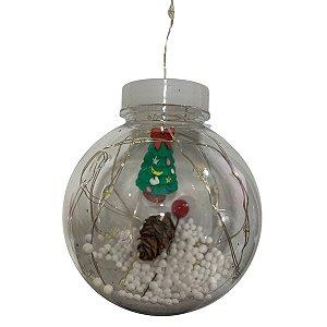 Led Decorativo Cortina De Natal 5 Funções