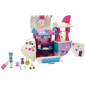 Playset Polly Pocket Jatinho Fabuloso - Mattel