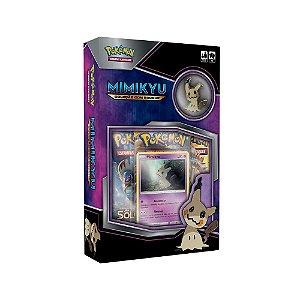 Jogo Deluxe Box Pokémon Coleção Com Broche Mimikyu Copag