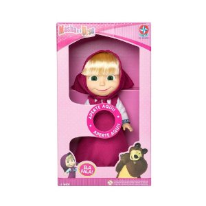 Boneca Masha E O Urso Estrela Que Fala